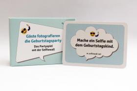Foto 4 200 Spielkarten mit Foto- & Malaufgaben, Geburtstagsparty, Runder Geburtstag