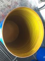 gebrauchte 200 l Weithalsfässer aus Stahl