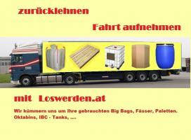 Gebrauchte Bags, Fässer, Paletten, Oktabins Und IBC Tanks
