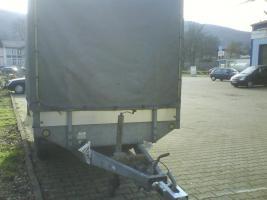 2000 kg Saris PKW Anhänger Hochlader Tandem 1.Hd / Tüv 08.2012