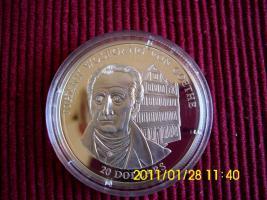 20 $ Sterlingsilber  Liberia