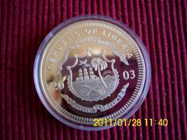 Foto 2 20 $ Sterlingsilber  Liberia