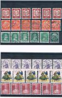 Foto 2 21 Kleine Briefmarkensets .