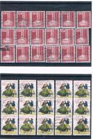 Foto 6 21 Kleine Briefmarkensets .
