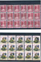 Foto 7 21 Kleine Briefmarkensets .