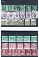 Foto 10 21 Kleine Briefmarkensets .