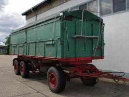 24t. 2-S-Kipper mit Getreideaufbau Aufbau kein HW 80 Anhänger Kipper