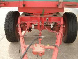 Foto 3 24t. 2-S-Kipper mit Getreideaufbau Aufbau kein HW 80 Anhänger Kipper