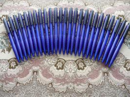 25 Blau-Schwarz Kugelschreiber Mit Werbung Actebis