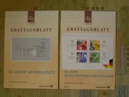 258 ETB-Bund + 65 ETB-Berlin (Nrn.siehe Text) im neuwertigen Zustand / TOP