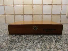 Foto 5 25er Holzkiste Cohibas Espléndidos Zigarren aus Havanna/Cuba mit Siegel