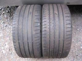 2 * 255/30 ZR18 Conti Sport Contact 2 Reifen Tuning 255-30-18 Sport 2