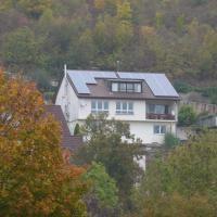 2 - 3 Familienhaus in Bad Mergentheim, Blick über Bad MGH, zentrumsnah, Sonnenlage mit Urlaubscharme