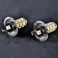 2er 18 LED SMD XENON Weiss