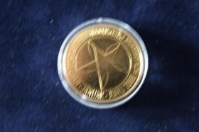 Foto 2 3 EUR Mü. Slowenien 2008 Vollvergoldet 15 EUR