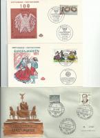3 FDC BRIEFE AB 1958 BERLIN UND BRD