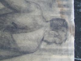 Foto 9 3 Gemälde A. Bogomazov / N. Suetin  / L. Popova oder Popowa ? aus DDR Nachlass
