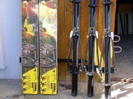 3 Thule Fahrradträger 549 für Dachmontage