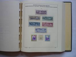 Foto 9 3 VD-Alben, DDR, 1949 -1990, Top, ab 1966 mit postfr. Sammlung