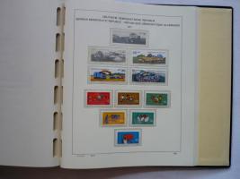 Foto 10 3 VD-Alben, DDR, 1949 -1990, Top, ab 1966 mit postfr. Sammlung