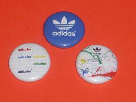 3 adidas Buttons