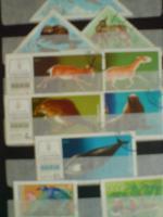 Foto 2 3 kleine Briefmarkenalben