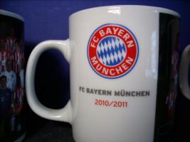 Foto 2 3 x Bayern München Tasse, neu.