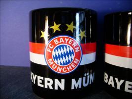 Foto 3 3 x Bayern München Tasse, neu.