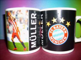 Foto 4 3 x Bayern München Tasse, neu.
