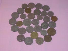 31 Europäische Münzen