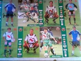 33 Fussball Orig Autogramme Rapid Wien