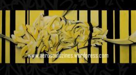 3D Graffiti/Surrealismus Oel auf leinwand