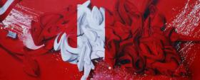 Foto 3 3D Graffiti/Surrealismus Oel auf leinwand