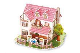 3D Puzzle Haus blauer Vogel, ab 6 Jahre, für nur 1,70 €, NEU