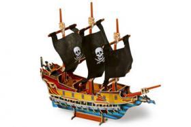 3D Puzzle Piratenschiff, Holz, ab 5 Jahre, für nur 8,31 €, NEU