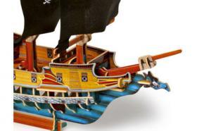 Foto 2 3D Puzzle Piratenschiff, Holz, ab 5 Jahre, für nur 8,31 €, NEU