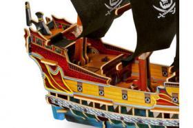 Foto 3 3D Puzzle Piratenschiff, Holz, ab 5 Jahre, für nur 8,31 €, NEU