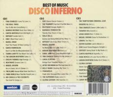 Foto 2 3er CDs - The Best Of Music - Disco Inferno