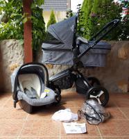 3in1 Kombikinderwagen Set mit Babyschale von der Marke iBubi NAGELNEU