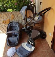 Foto 3 3in1 Kombikinderwagen Set mit Babyschale von der Marke iBubi NAGELNEU