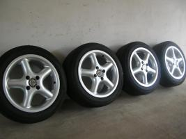 4 Alufelgen Ronal 7x15 H2 + Bereifung 195/50 R15 V (VW Golf III, Seat, Opel)