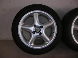 Foto 3 4 Alufelgen Ronal 7x15 H2 + Bereifung 195/50 R15 V (VW Golf III, Seat, Opel)