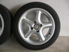 Foto 4 4 Alufelgen Ronal 7x15 H2 + Bereifung 195/50 R15 V (VW Golf III, Seat, Opel)