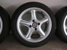 Foto 6 4 Alufelgen Ronal 7x15 H2 + Bereifung 195/50 R15 V (VW Golf III, Seat, Opel)