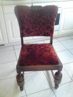 4 Antik Stühle