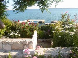 4 Ferienwohnungen direkt am Meer in Norddalmatien Ferienhaus bis zu 18 Personen