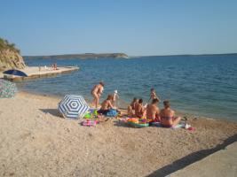 Foto 5 4 Ferienwohnungen direkt am Meer in Norddalmatien Ferienhaus bis zu 18 Personen