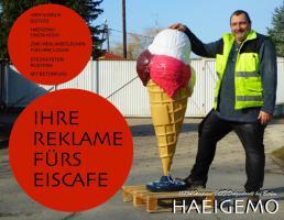 4 Kugel Deko Eistüte jetzt erhältlich 150cm hoch für nur 469,00 € ...