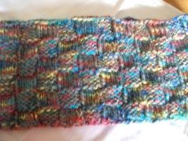 Foto 3 4 Loop-Schals für Kinder, selbst gestrickt bzw. gehäkelt, je 5 €