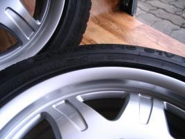 Foto 7 4 gebrauchte Conti Sommerkompletträder SLK Mercedes Benz incl. Leichtschmiedefelge 16 Zoll - original Mercedes Benz Räder MO